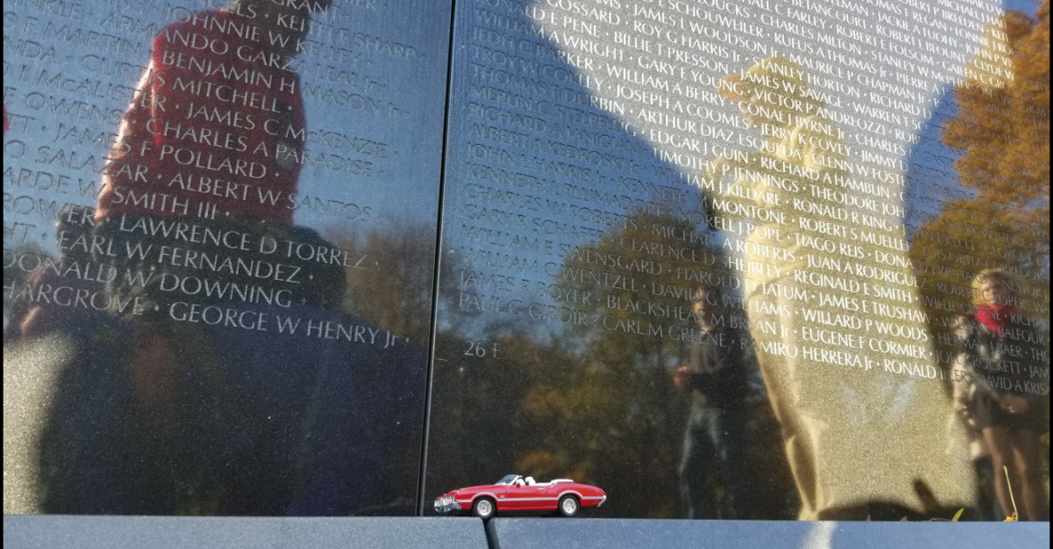 At the Wall of Heroes